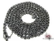 Black Diamond Chain 34 Inches, 67 Grams ダイヤモンド チェーン