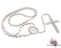 Custom Jewelry - Parsley Custom Rosary ダイヤモンド ロザリオ チェーン