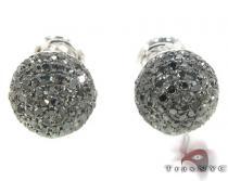 Black Berry Studs 2 Mens Diamond Earrings