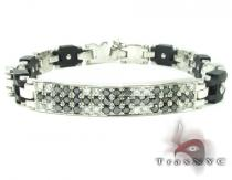 Black and White JoJino Bracelet VTY-D12 Mens Diamond Bracelets