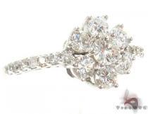 Sunflower Diamond Ring ダイヤモンド 婚約 結婚指輪