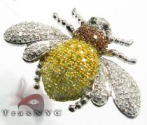 Bumble Bee Pendant Diamond Pendants