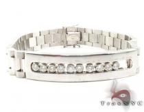Small WG Diamond Olex Link Bracelet メンズ ダイヤモンド ブレスレット