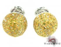 Small Berry Studs Mens Diamond Earrings