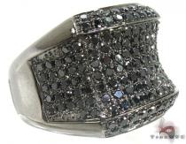 Black Night Ring Mens Black Diamond Rings