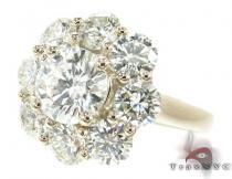 Diamond Flower Ring ダイヤモンド 婚約 結婚指輪