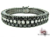 Black & White Exclusive Bracelet メンズ ダイヤモンド ブレスレット