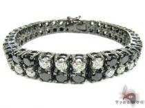 Black & White Exclusive Bracelet 2 メンズ ダイヤモンド ブレスレット