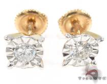 Yellow Gold Kingdom Earrings メンズ ダイヤモンドイヤリング ピアス
