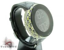 Canary & Black Diamond Digital Gucci Watch 2 Gucci グッチ