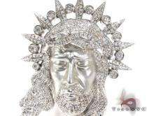 Jesus Head Pendant Diamond Pendants