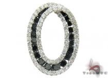 Oval Diamond Pendant 2 Stone
