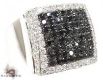 Fabiano Ring Mens Black Diamond Rings