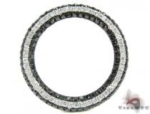 Black Diamond Lined Pendant Diamond Pendants