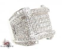 White Gold XL RSVP Ring メンズ ダイヤモンド リング