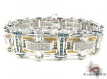 Terminator Bracelet メンズ ダイヤモンド ブレスレット