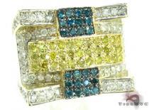 Sunny Multi-Color Ring メンズ ダイヤモンド リング