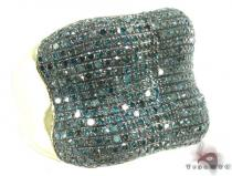 Blue Diamond Bone Ring Mens Diamond Rings