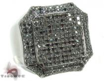 Black Diamond Octagon Ring Stone