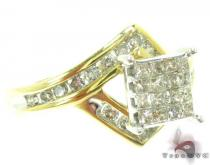 Nefertiti Ring Diamond Wedding Rings