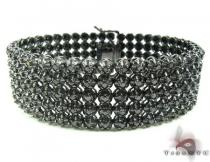 Custom Jewelry - Black Diamond Toni Bracelet Mens Diamond Bracelets