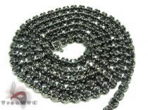 Black Diamond Chain 30 Inches, 4mm, 43 Grams ダイヤモンド チェーン