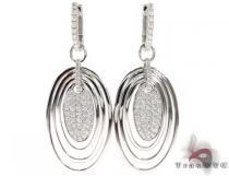 Diamond Chandelier Earrings レディース ダイヤモンドイヤリング