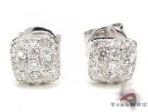 Flash Earrings レディース ダイヤモンドイヤリング
