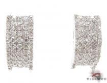 Deep Dish Earrings レディース ダイヤモンドイヤリング