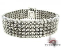 5 Row Bracelet 2 Mens Diamond Bracelets
