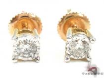 Half Carat Diamond Studs Mens Diamond Earrings