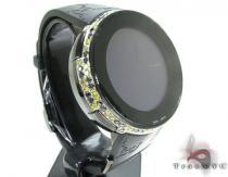 Canary & Black Diamond Digital Gucci Watch Gucci グッチ