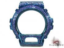 Blue and Purple CZ G-Shock Case G-Shock