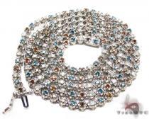 Liberty Diamond Chain 30 Inches, 4mm, 37.6 Grams ダイヤモンド チェーン