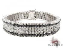 Black and White Diamonds Paulie Bracelet 1 Featured Bracelets