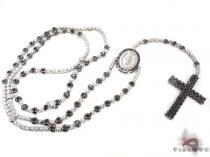 Black and White Gold Diamond Rosary ダイヤモンド ロザリオ チェーン