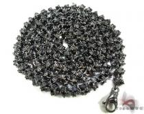 Black Diamond Chain 30in, 6mm, 140 Grams Diamond Chains