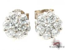VS1 Round Cut Stud Earring Diamond Earrings For Women