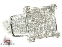 Pave Bonnet Ring Diamond Wedding Rings
