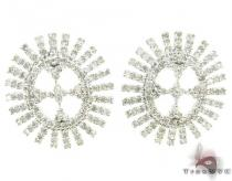 Ladies Diamond Earrings 19088 Stone
