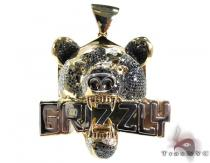 Grizzly Pendant Diamond Pendants