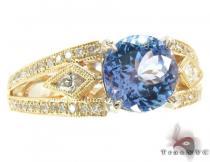 Diamond Tanzanite Ring ジェムストーン ダイヤモンド リング