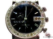 Brown Gucci 101G Chrono Watch YA101341 Gucci グッチ