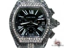 Custom Jewelry - New Cartier Roadster XL W62020X6 Cartier