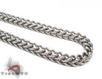 Stainless Steel Franco n 24 Inches, 6mm, 73.1 Grams Stainless Steel