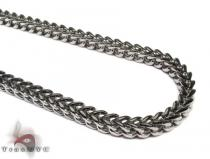 Stainless Steel Franco Chain 24 Inches, 6mm, 87.5 Grams Stainless Steel