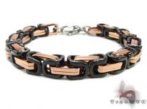 Stainless Steel Bracelet BJS02B RG ステンレススティール ブレスレット