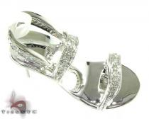 Diamond Shoe Pendant Stone