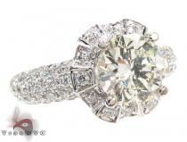 Ladies Diamond Ring 19519 Engagement