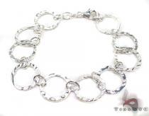 Ladies Silver Bracelet 19619 ステアリングシルバーブレスレット